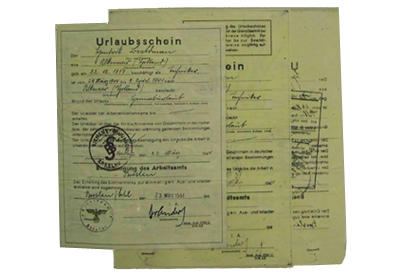 Forged Documents from The Great Escape