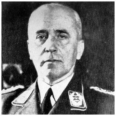 Von Lindeiner Kommandant of Stalag Luft III