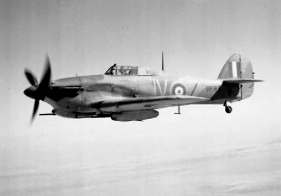 Hurricane Fighter of Zillessen, The Scrounger from The Great Escape