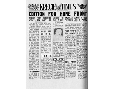 The Kriegie Times a POW Newspaper Published in Stalag Luft III