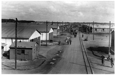 POWs from Stalag Luft III moved to Marlag und Milag Nord at Tarmstedt
