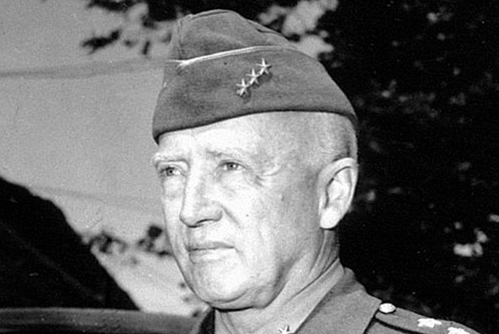 General George S. Patton and the liberation of Stalag VIIA in Moosberg