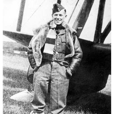 F/Lt Keen Early Flying Career