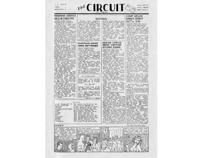 The Circuit a POW Newspaper Published in Stalag Luft III