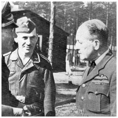 Herbert Massey Senior British Officer(SBO) Stalag Luft III