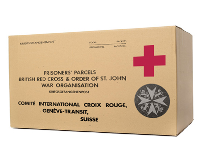 Red Cross Food Parcel from Stalag Luft III
